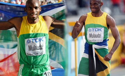 South African and 2009 world 800m champion Mbulaeni Mulaudzi dies in a car accident on Friday October 24 at the age of 34.