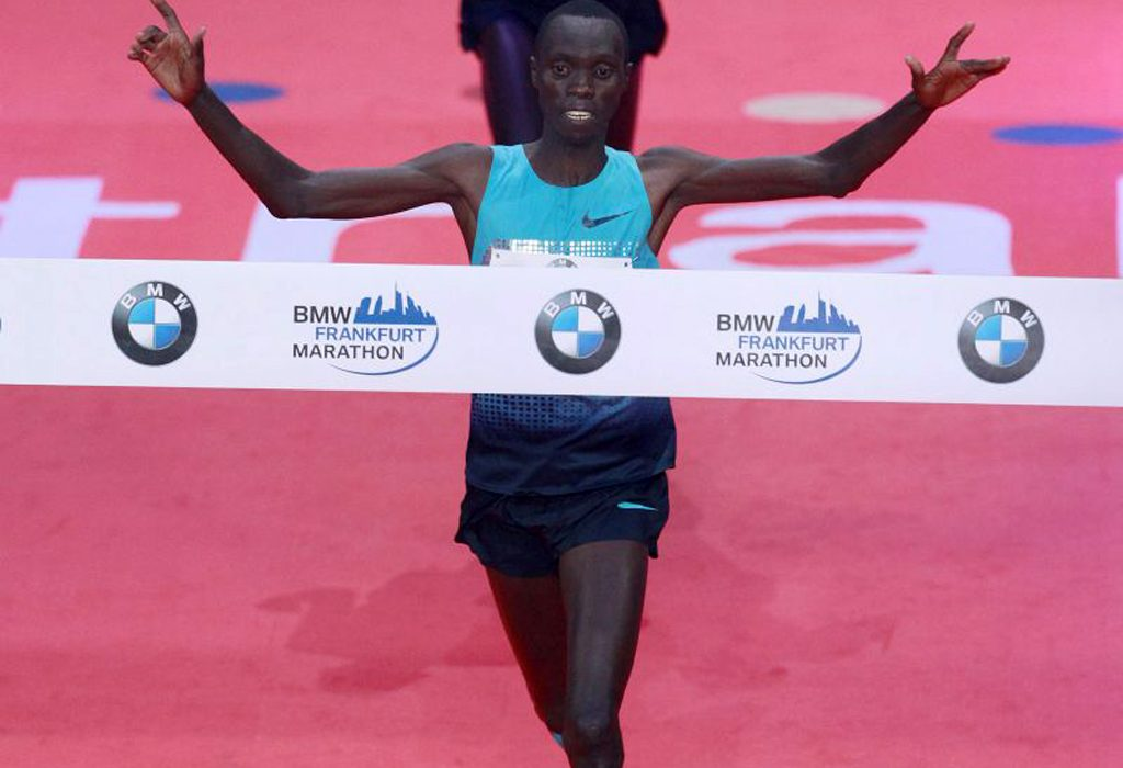Defending champion Vincent Kipruto from Kenya will return to the BMW Frankfurt Marathon / Photo: Photorun.net