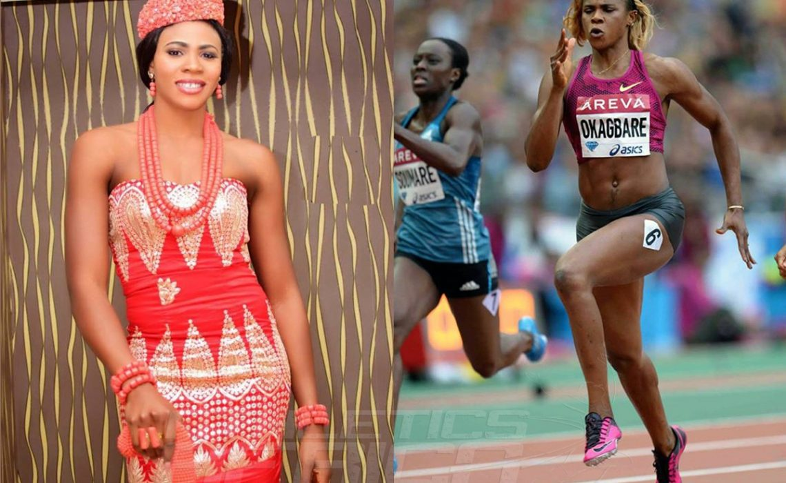 Commonwealth champion Blessing Okagbare voted the Nigerian Sportswoman of the Year at the Nigerian Sports Awards 2014, held at Muson Centre, Onikan, Lagos.