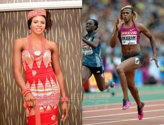 Blessing Okagbare is Nigerian sportswoman of 2014