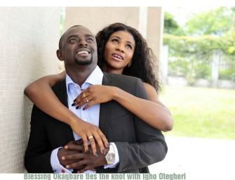 Nigeria's Blessing Okagbare ties the knot with Igho Otegheri