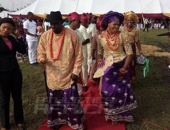 In Pictures: Blessing Okagbare weds Igho Otegheri in Sapele