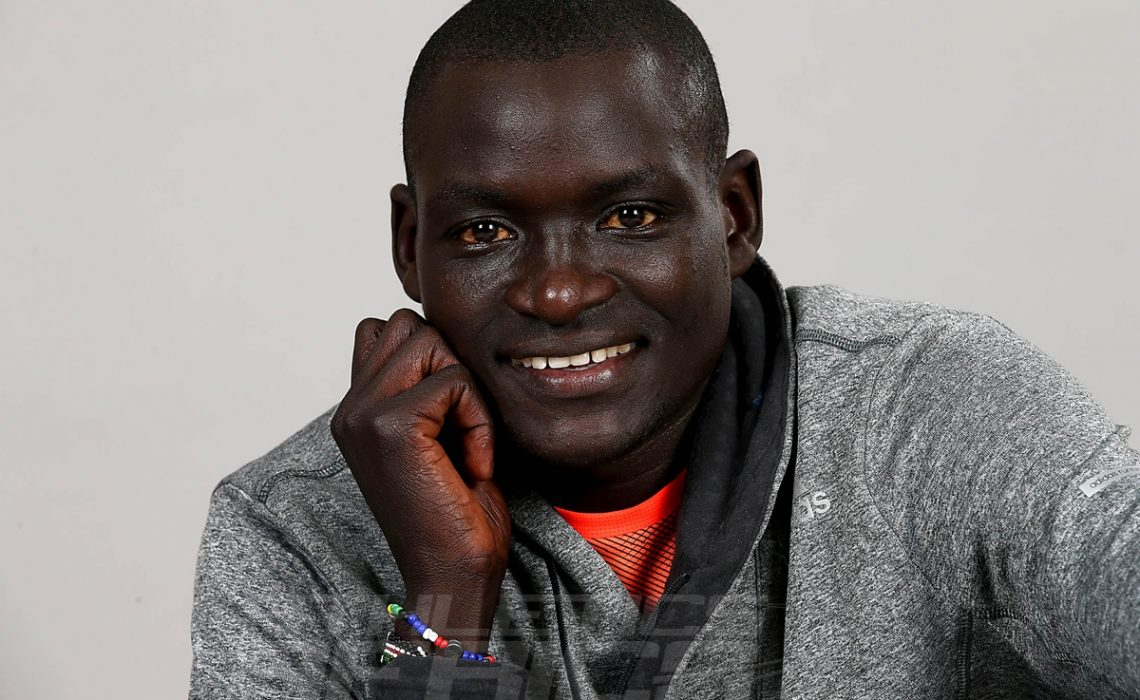 World marathon record-holder, Dennis Kimetto, from Kenya was inspired by listening to athletics commentary on radio / Photo credit: IAAF - Giancarlo Colombo