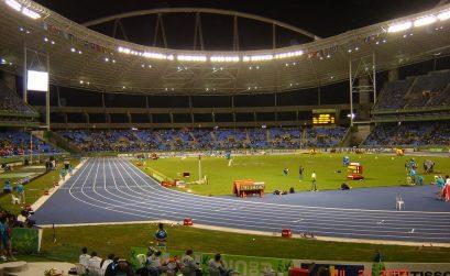 João Havelange Olympic Stadium - Engenho de Dentro, Rio de Janeiro - RJ, 20770-062 during the Pan Am Games in 2007 / Photo Credit: Panoramio/Elberth