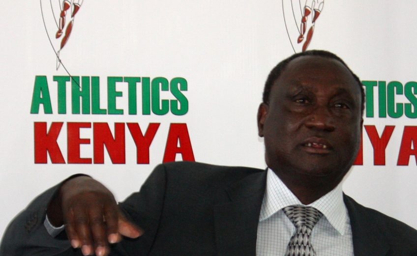 President of Athletics Kenya (AK) Isaiah Kiplagat