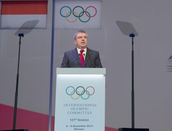Bach drives support for Olympic Agenda 2020