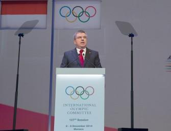 IOC President announces educational service for elite athletes