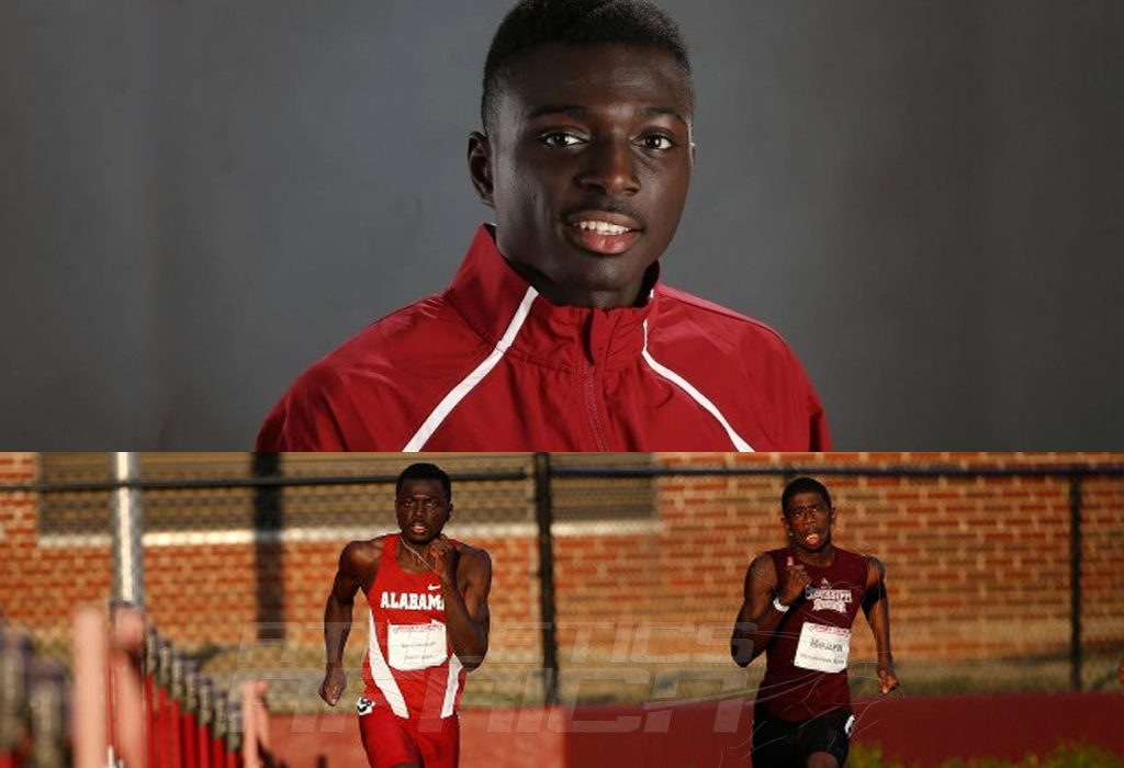 Ghana's Alex Amankwah currently owns the fastest men's 800m time in the world in 2015