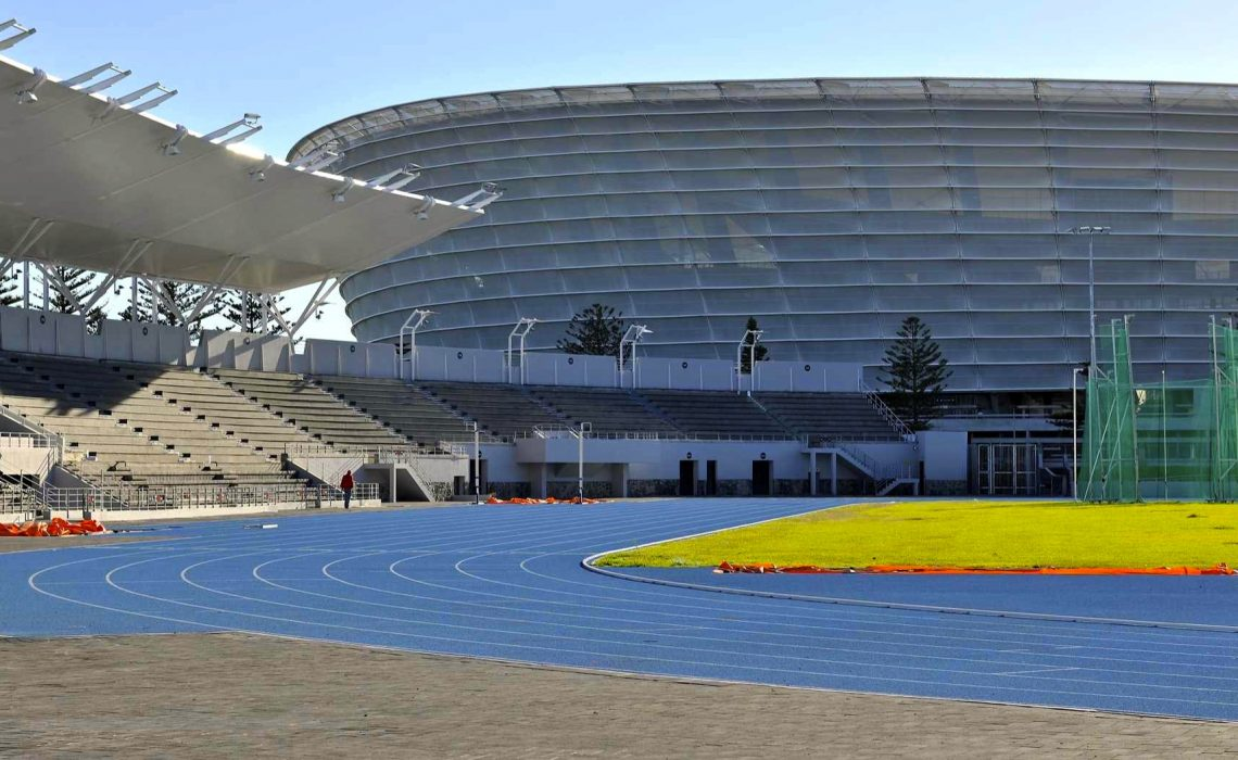 The track at the Green Point Athletics Stadium in Cape Town / Photo credit: Future Cape Town