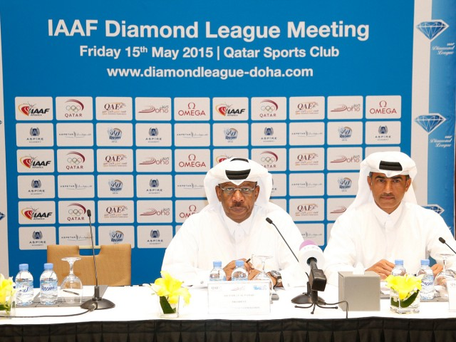2015 IAAF Diamond League campaign opens at the Doha 2015 meeting on Friday 15 May / Photo CREDIT:  IDL