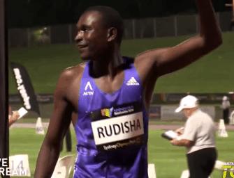 Rudisha kickstarts 2016 with 1:44.78 win in Melbourne