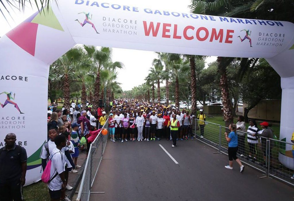 More than 6000 people to participate in the 2015 Diacore Gaborone Marathon / Photo credit: Organisers