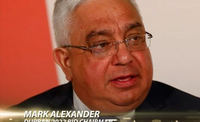 Durban 2022 Bid Committee chairman Mark Alexander