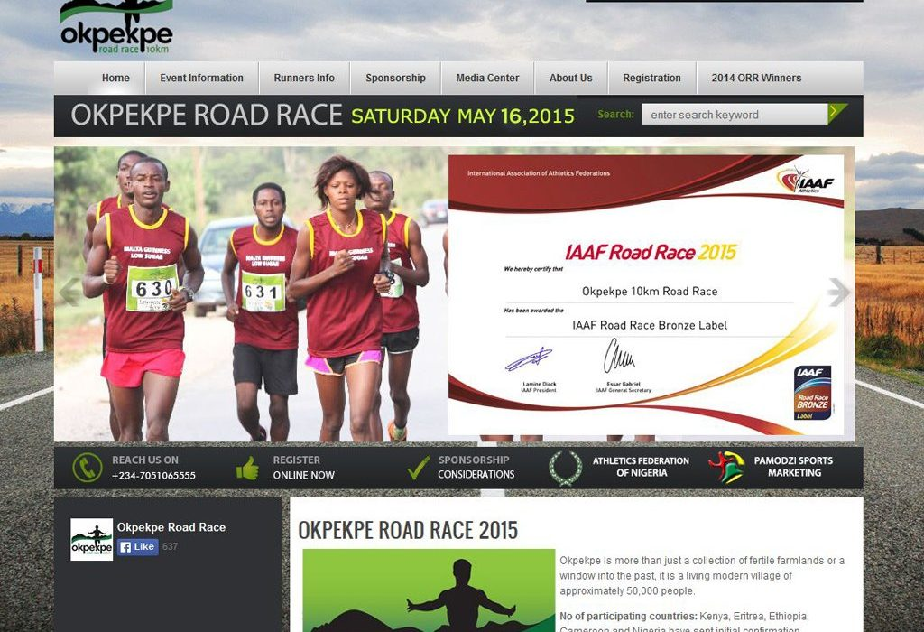 Okpekpe Road Race 2015 is now an IAAF Road Race Bronze Label event.