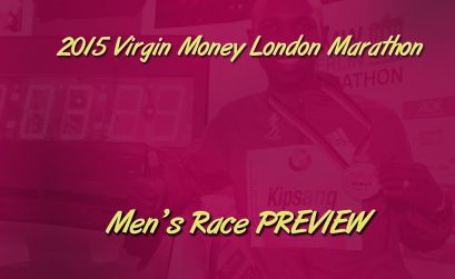 2015 London Marathon Men's race video