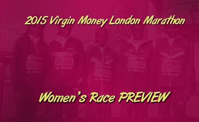 London Marathon Women's Race