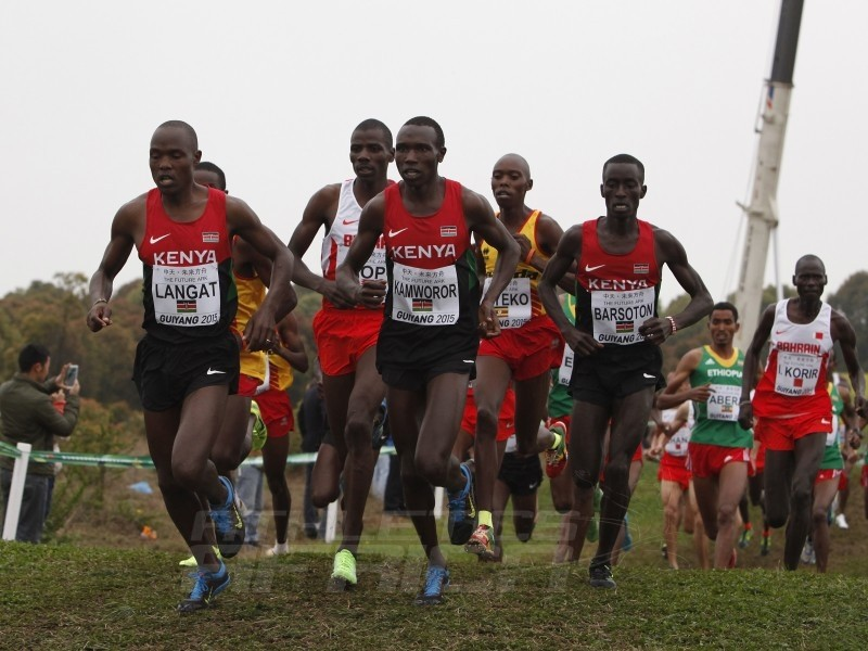 Senior men race at the IAAF World Cross Country Championships, Guiyang 2015 / Photo credit: © Getty Images for IAAF