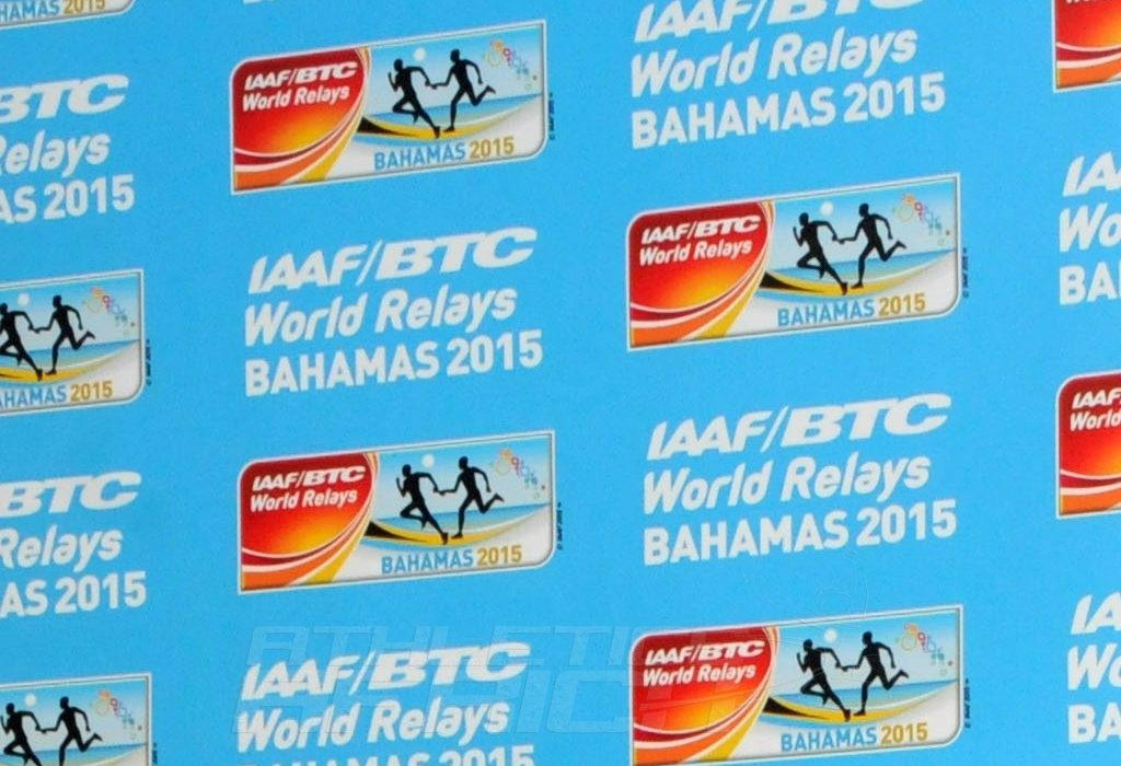 Team Africa at the 2015 IAAF World Relays in Bahamas