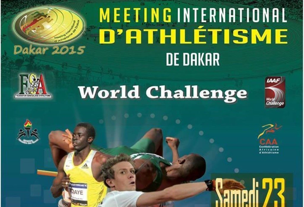 Complete Results of the 2015 IAAF World Challenge / Meeting Internationale D'Athlétisme de Dakar - May 23, 2015.