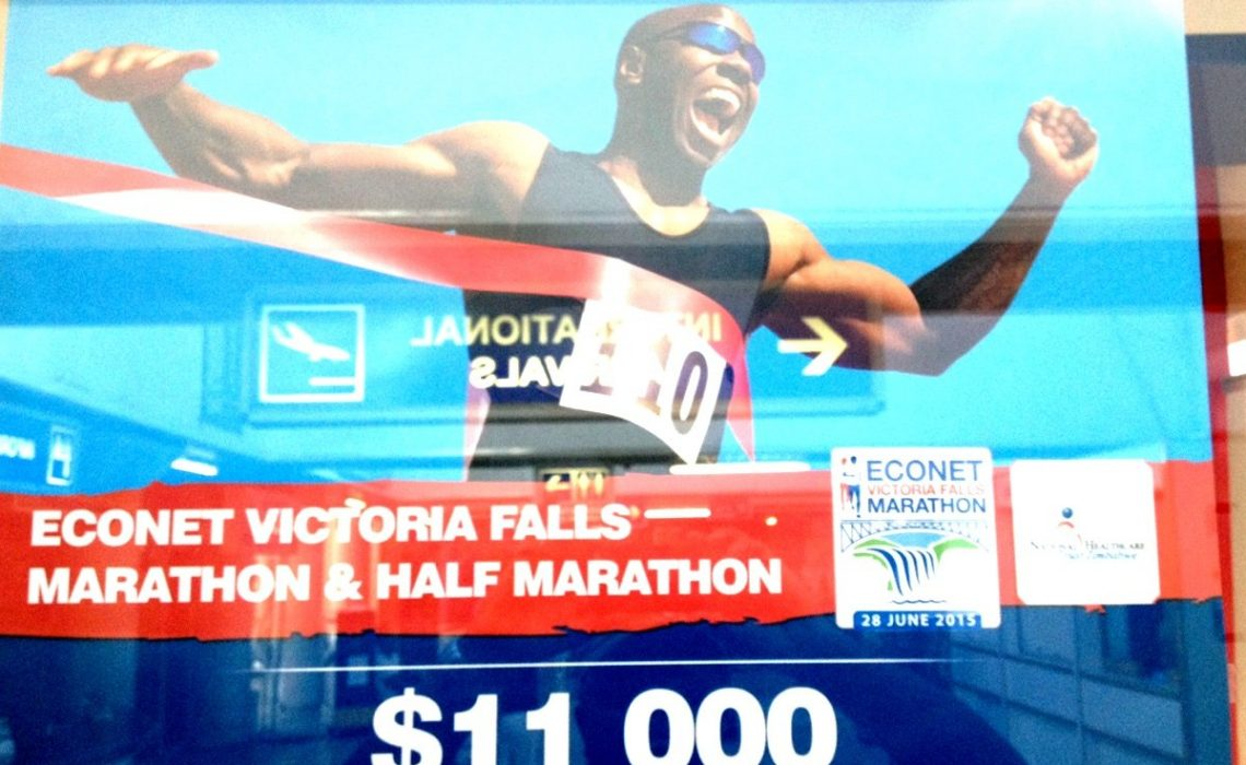 The Econet Wireless Victoria Falls Full and Half Marathon takes place on 28 June, 2015.