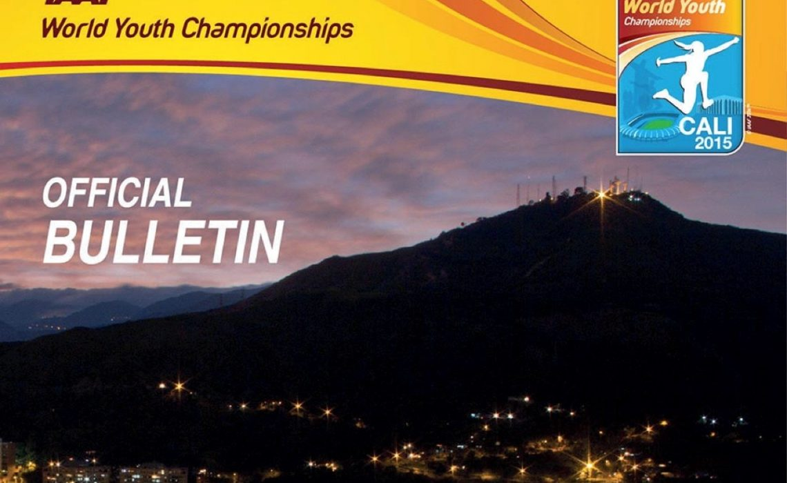 IAAF World Youth Championships, Cali 2015