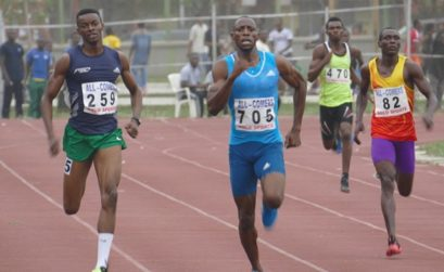 Nigerian athletes at the AFN Golden League Meeting