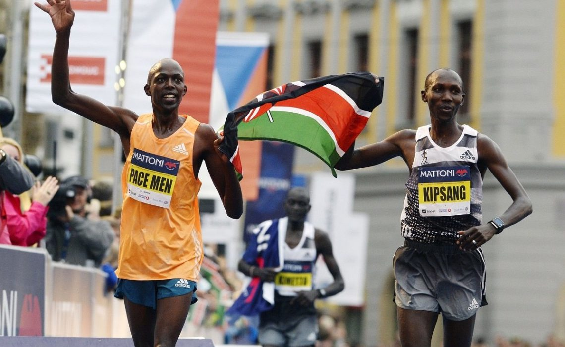 Kenyans Kipsang, Ronoh and Keitany lead the field at the 2015 Mattoni Olomouc Half Marathon on June 20.