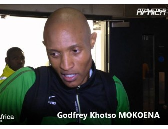 Road to Beijing 2015: Zarck Visser and Khotso Mokoena