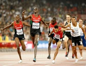 Kenya tops medals table at Beijing 2015