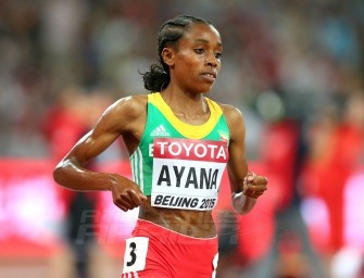 Ayana wins IAAF / adidas Performance of Beijing 2015 Championships