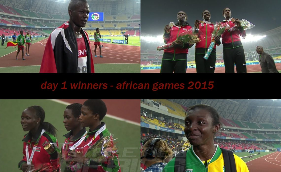 Day One at the African Games 2015