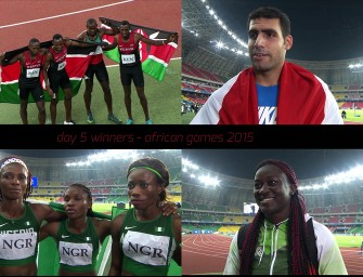 Kenya closes Brazzaville 2015 with stunning African Games record, Nigeria tops medals table on Day 5