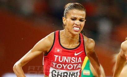Habiba Ghribi of Tunisia on day 5 at the 2015 IAAF World Championships in Beijing, China / Photo credits: Getty Images for the IAAF