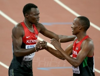 Kenyan team arrive Brazzaville 2015 with domination in mind