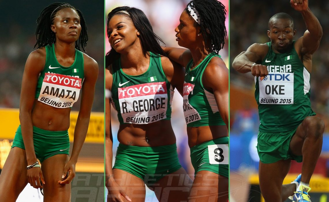 Team Nigeria failed to get any medal at Beijing 2015 - IAAF World Championships