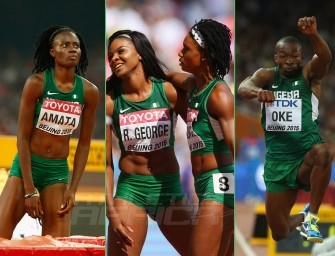 Okagbare, Ogunlewe headline Team Nigeria to Rio 2016