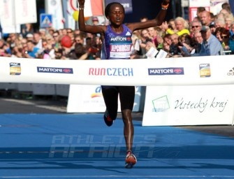 Peres Jepchirchir sets new course record in Usti nad Labem