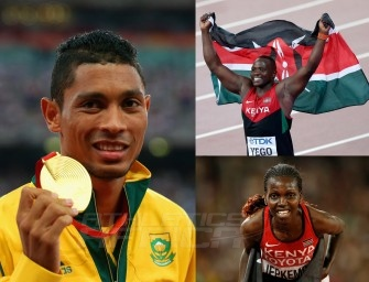 Beijing 2015 RECAP: Yego and Van Niekerk smash African records, Kiyeng wins Steeple gold on Day 5 – Aug 26