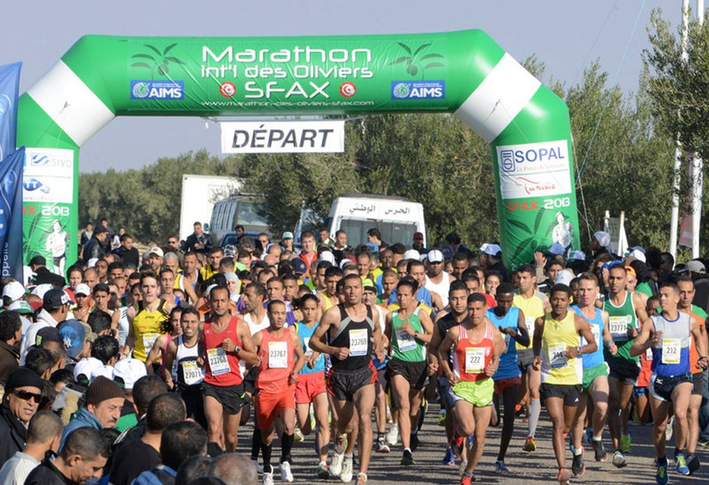 Sfax Marathon International Olive Trees