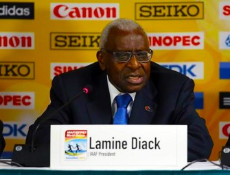 Lamine Diack resigns as honorary member of the IOC
