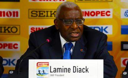 Lamine Diack - former IAAF president
