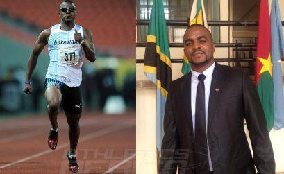 Botswana sprinter Obakeng Ngwigwa