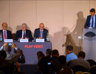 Video: WADA Independent Commission Report Press Conference 2015