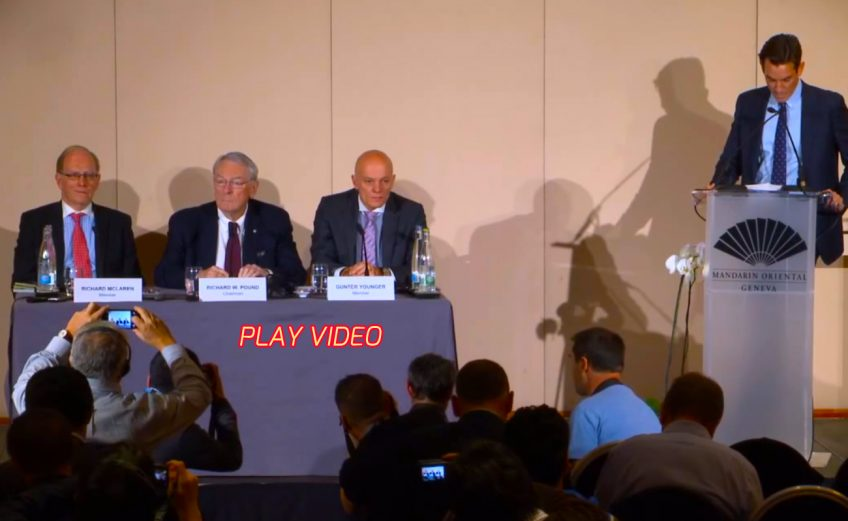 WADA's Independent Commission: Press Conference