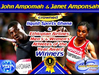 Ampomah and Amponsah named Ghana best athletes of 2015
