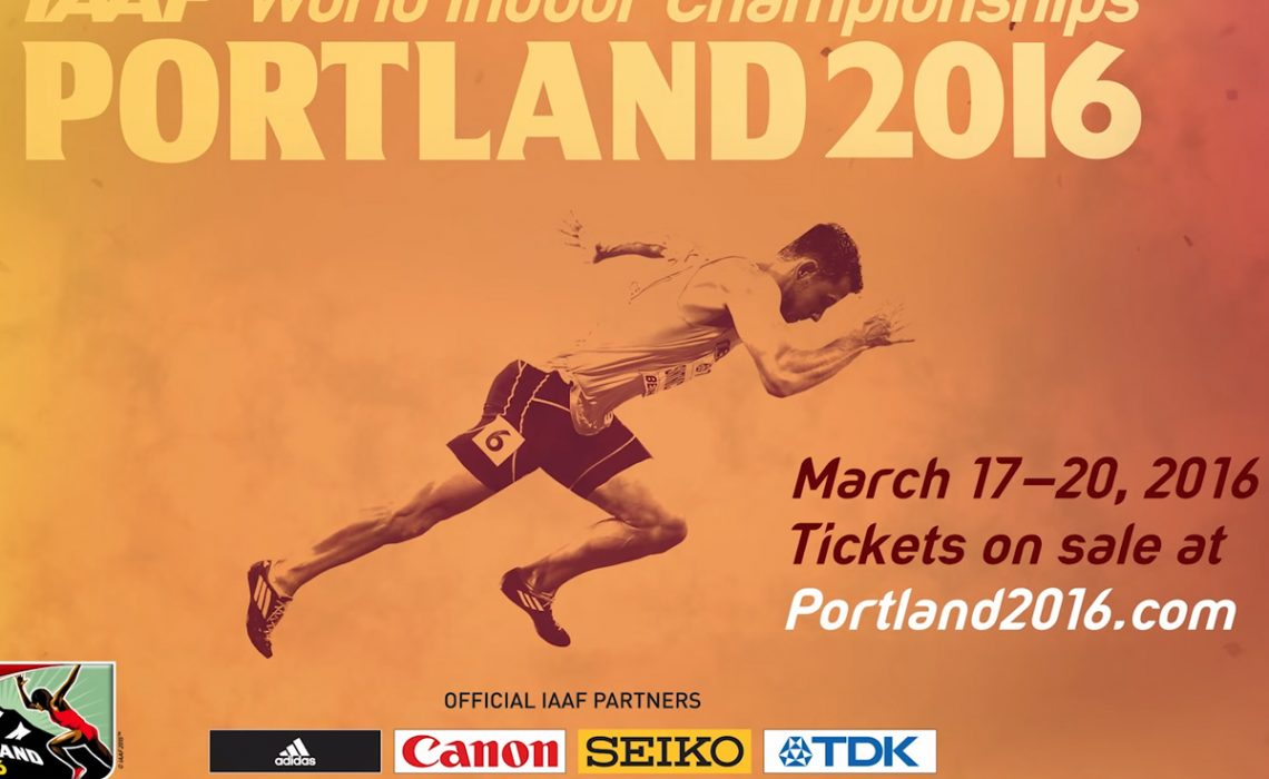 IAAF World Indoor Championships - Portland 2016 official bulletin to mark the 50 days to go until the event.