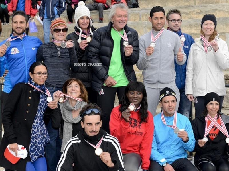 The 2nd Carthage Marathon in Tunisia