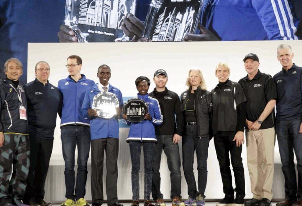 Eliud Kipchoge (KEN) and Mary Keitany (KEN) are the Abbott World Marathon Majors Series IX champions.