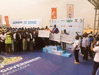 Kiptum, Hussen triumph at Lagos City Marathon 2016