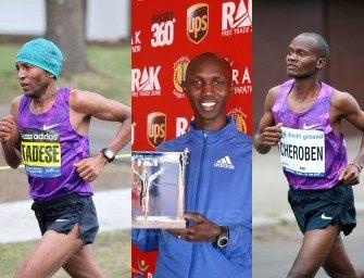 Kipsang, Jeptoo lead African assault at RAK Half Marathon 2016